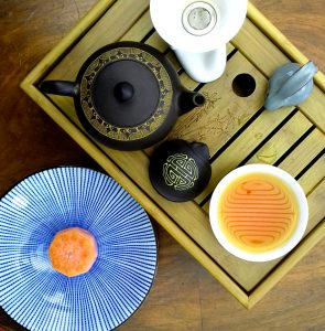 Earl Grey Mooncake and Tea