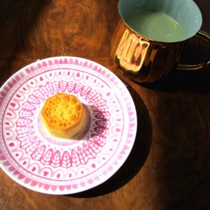 White Peach Mooncake